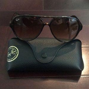 Ray Ban Brown Tortoise Sunglasses